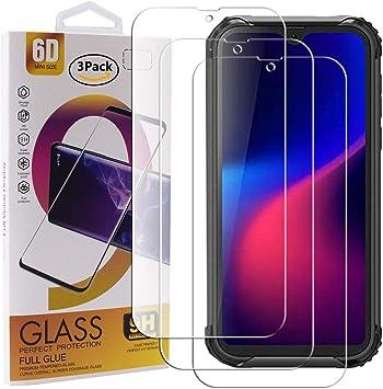 Guran 3 Paquete Cristal Templado Protector de Pantalla para Blackview BV5900 Smartphone 9H Dureza Anti-Ara?azos Alta Definicion Transparente Película: Amazon.es: Electrónica
