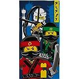 """LEGO Ninjago Movie """"Ninja"""" enfants Serviette, Multicolore"""