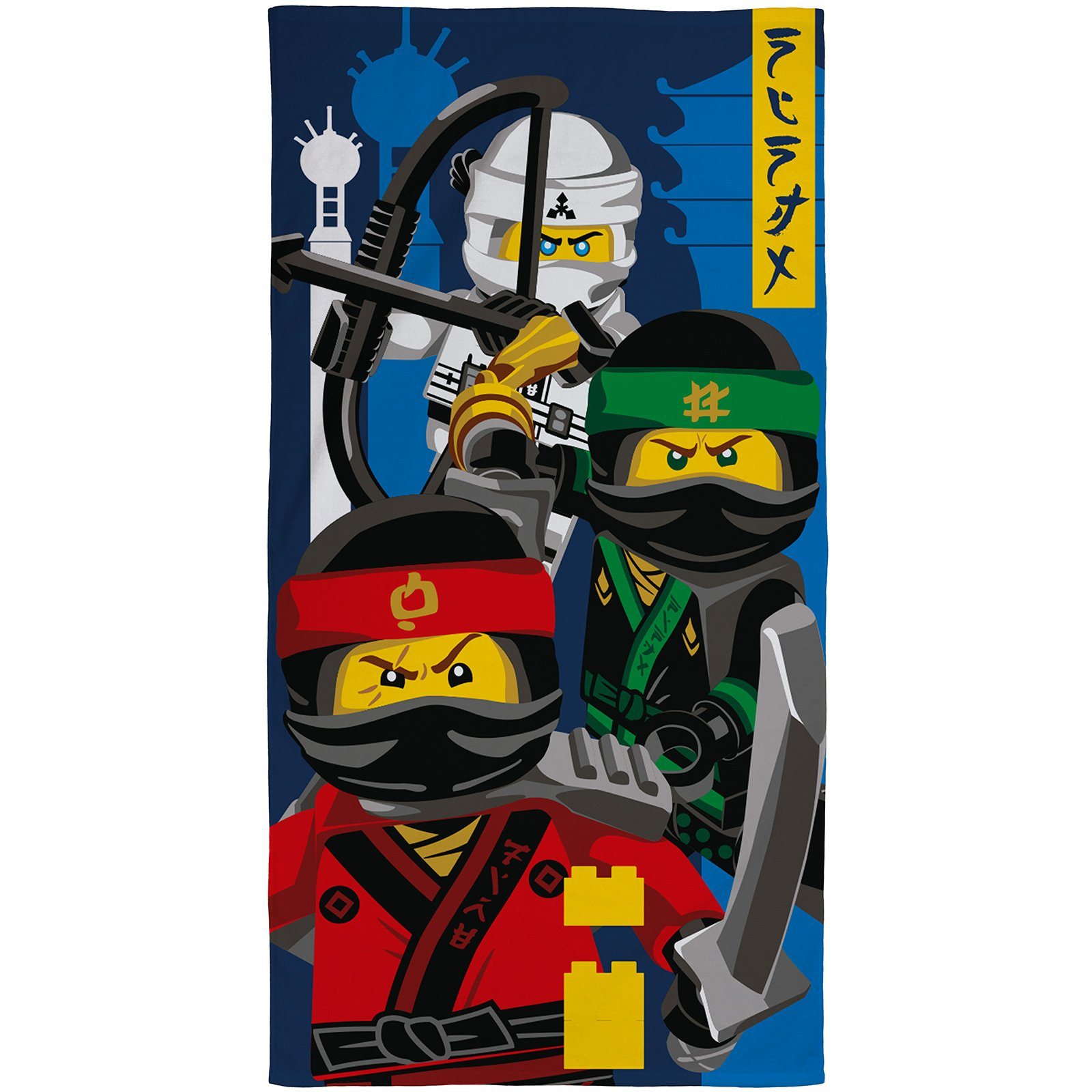 Lego Ninjago Movie 'ninja' Kids Towel