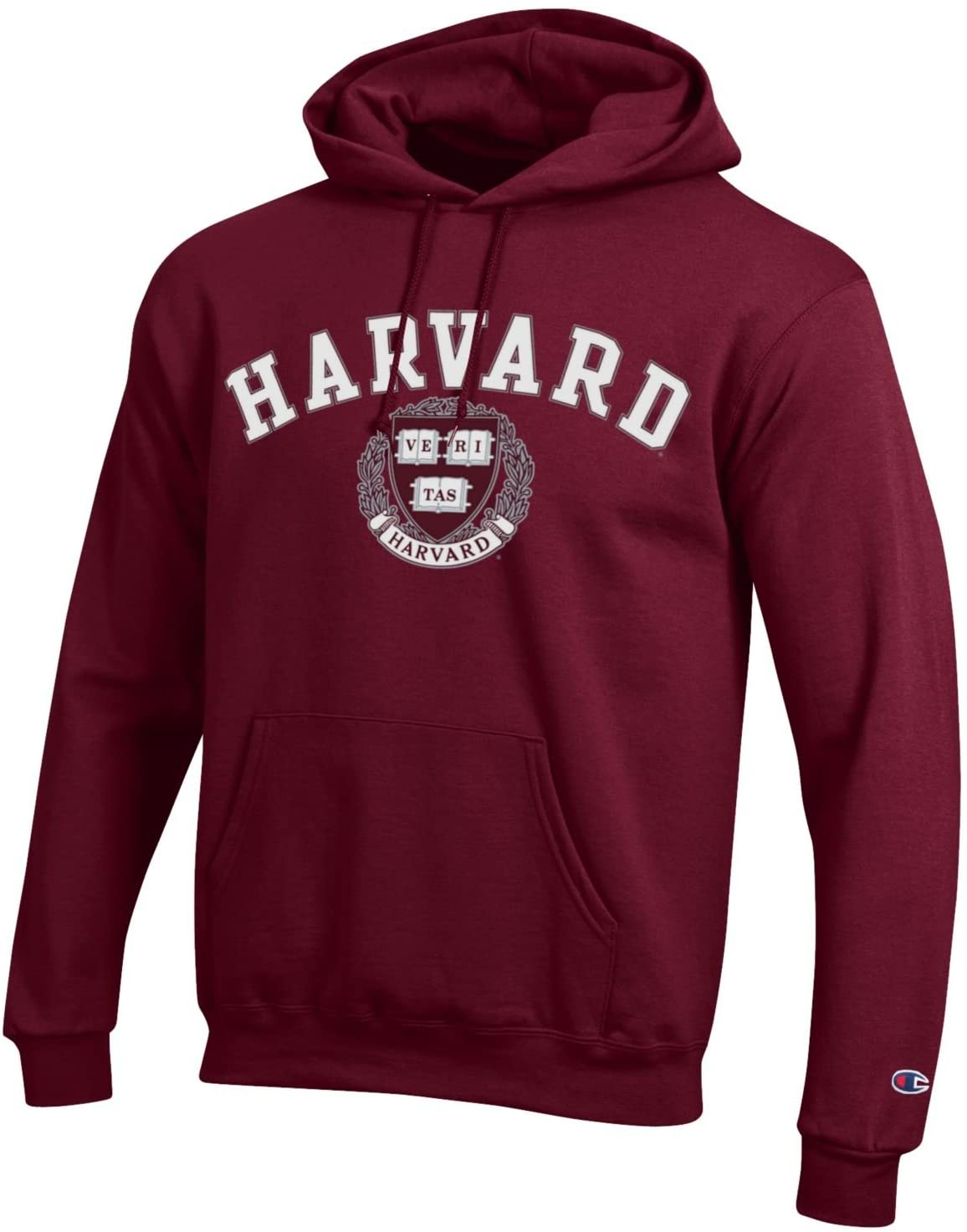 Champion Harvard University NCAA Hoodie Maroon