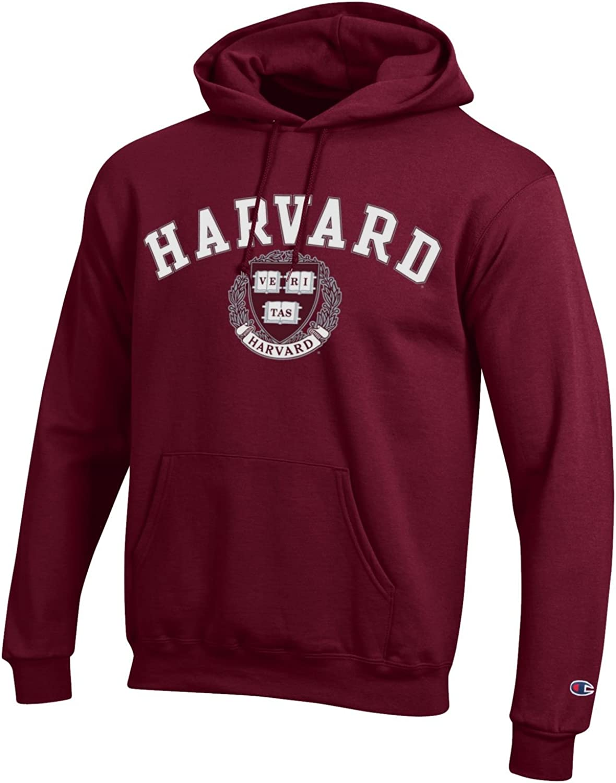 Champion Harvard University NCAA Hoodie Maroon