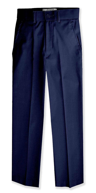 992a2180 Johnnie Lene Boys Flat Front Slacks Slim Fit Dress Pants