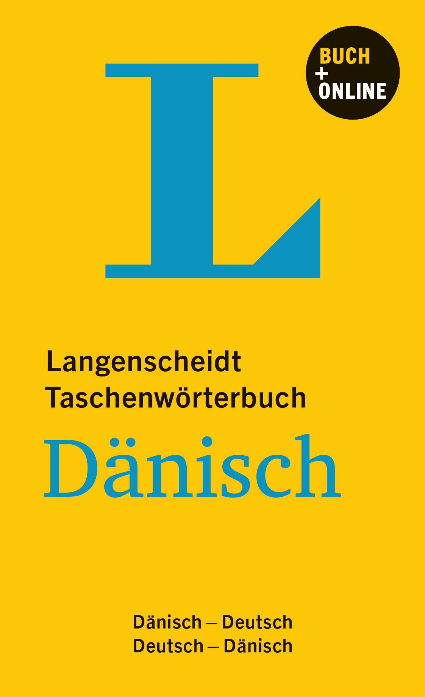 Langenscheidt Taschenwörterbuch Dänisch   Buch Mit Online Anbindung  Dänisch Deutsch Deutsch Dänisch  Langenscheidt Taschenwörterbücher