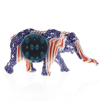 Budesi BFF Für Alexa Dekoration Elefant Form Spearker Ständer Halterung  Tisch Halterung Montagefuß Schutzhülle Für Amazon