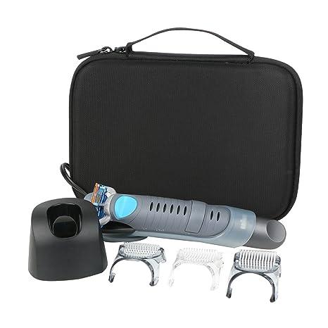 para Braun CruZer 5 Body - Afeitadora corporal masculina Trimmer Almacenamiento Viajar que Lleva Caja Bolsa Fundas para Series 5 6 BG5030 de CO2CREA: Amazon.es: Industria, empresas y ciencia