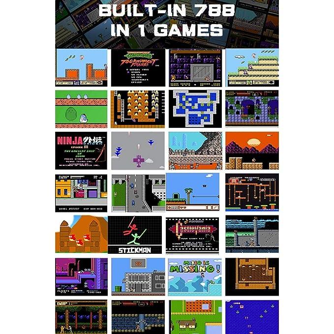 LJ2 Consola de Juegos portátil, Consola de Juegos Retro con ...