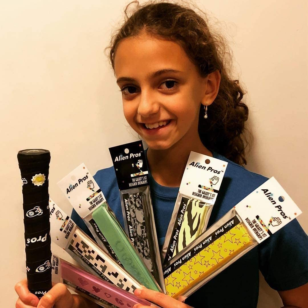 Amazon.com: Alien Pros Tennis Racket Grip Tape (3 Grips ...
