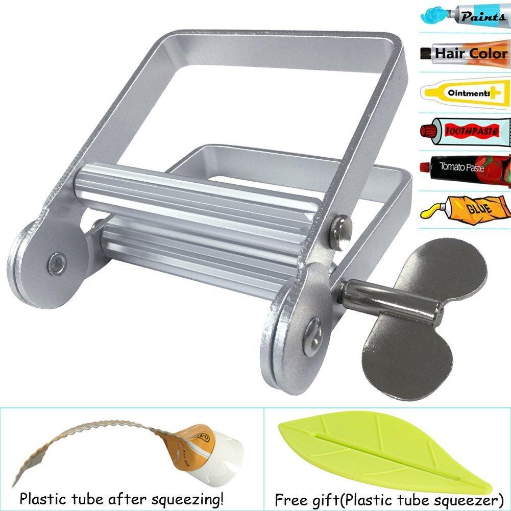 Pasta de dientes exprimidor, Metal tubo de pasta de dientes exprimidor para tubo de pintura de artista, peluquería, pintor...: Amazon.es: Hogar