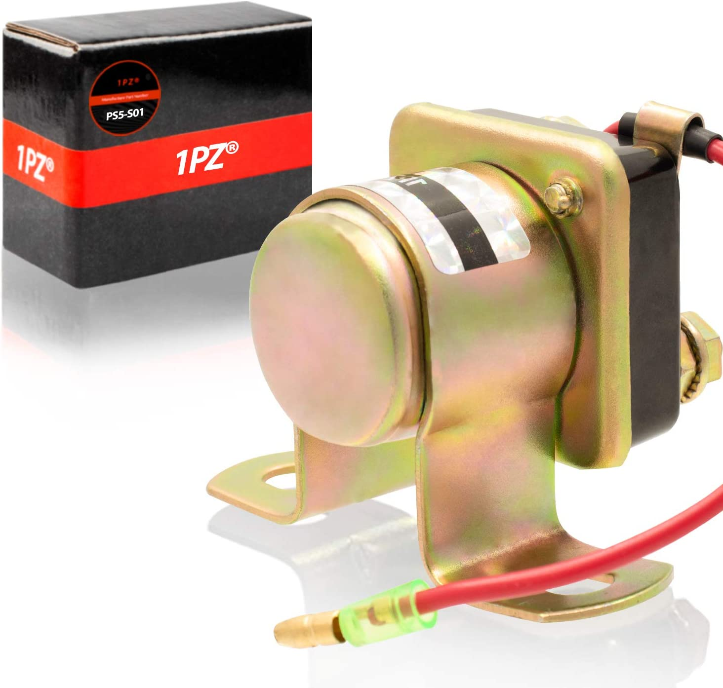 1PZ PS5-S01 Starter Solenoid Relay for POLARIS SPORTSMAN 500 600 1996-2004//SPORTSMAN 400L 4X4 1993-1997//TRAIL BOSS 250 325 1985-2002//TRAIL BLAZER 250//XPLORER 400 1996-2002//MAGNUM 325 425 500 1995-2002