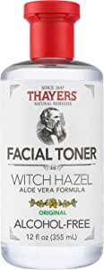 Thayers Witch Hazel Original Facial Toner - Paraben and Alcohol Free - Organic Toner with Aloe Vera Formula - 12 oz - 355ml