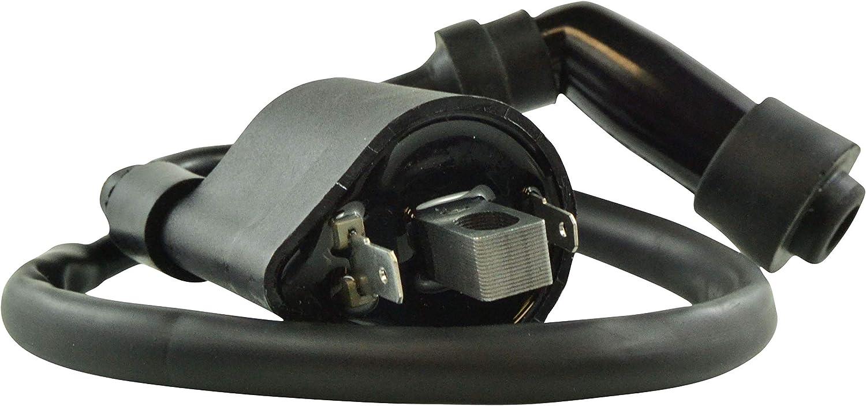 External Ignition Coil with Cap For Yamaha YXR 700 Rhino YXM 700 Viking VI Suzuki KingQuad 400 Vstrom 1000 2008-2018