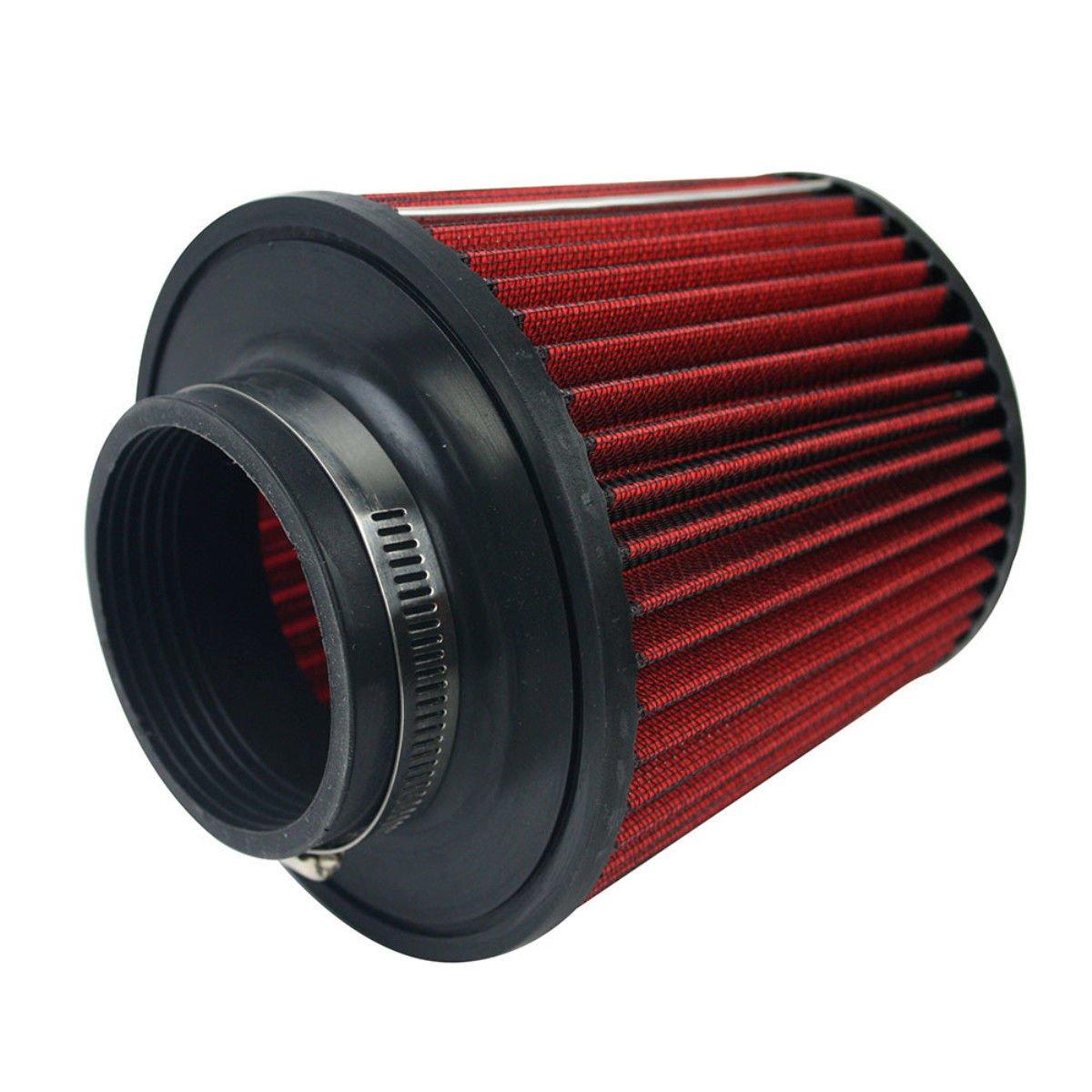 Auto filtro aria –  Maso universale performance filtro aria rosso per 76 mm 7, 6 cm aspirazione a induzione kit (39093) 6cm aspirazione a induzione kit (39093)