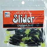 Amazon.com : Slider Crappie/Panfish Grub Lure, 1-1/2-Inch ...