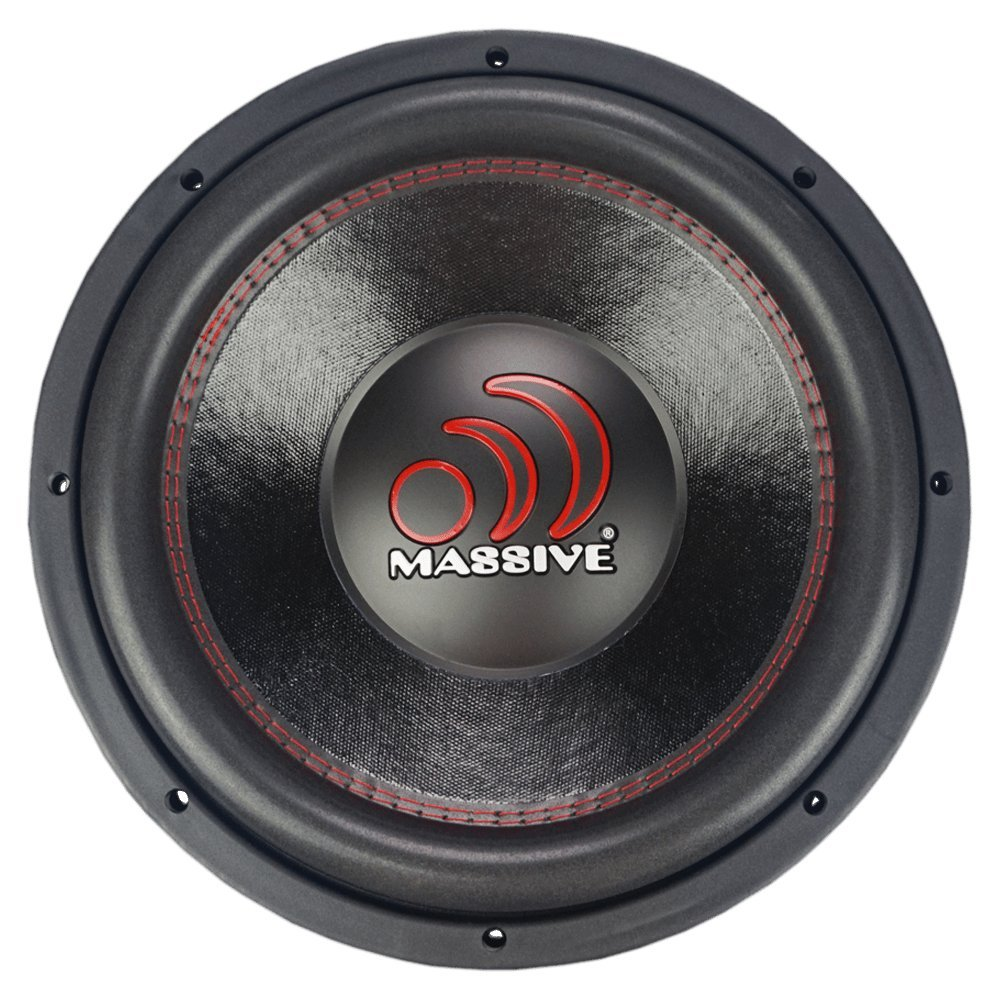 Massive Audio Gtx154 15 Inch Subwoofer Gtx Series 1400 Lanzar Dct252 3000w Amp 2 Channel Amplifier With 4 Ga Wiring Kit Watt That Works Great As Competition Dual Ohm 25 Voice