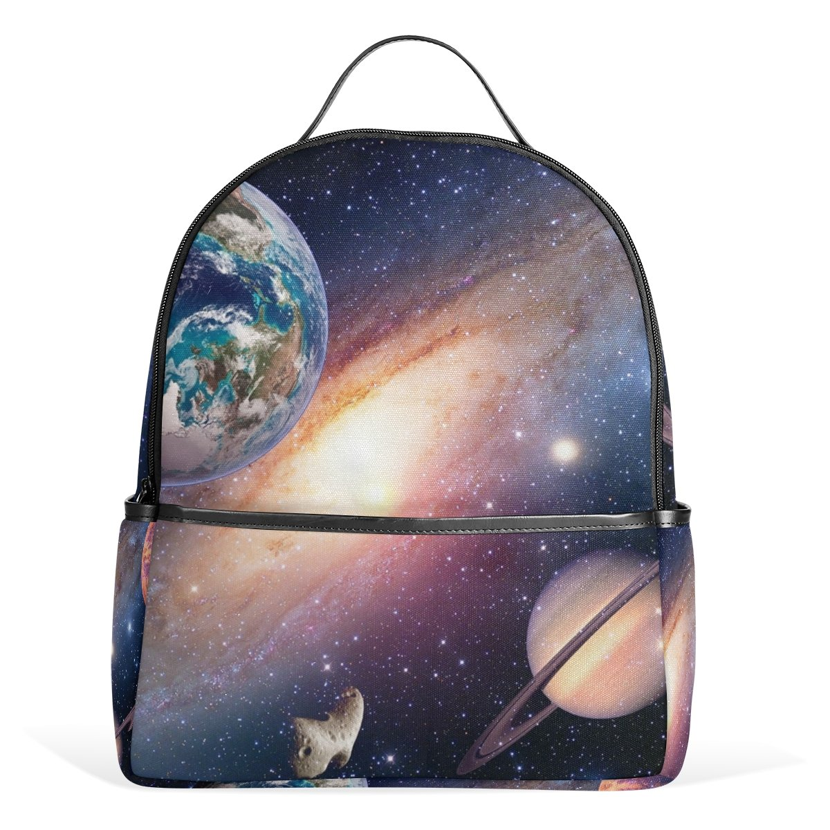 5c288e0455 Amazon.com  YZGO Space Planet Galaxy Children School Backpacks for Boys  Girls Youth Canvas Bookbags Travel Laptop Bags  Computers   Accessories