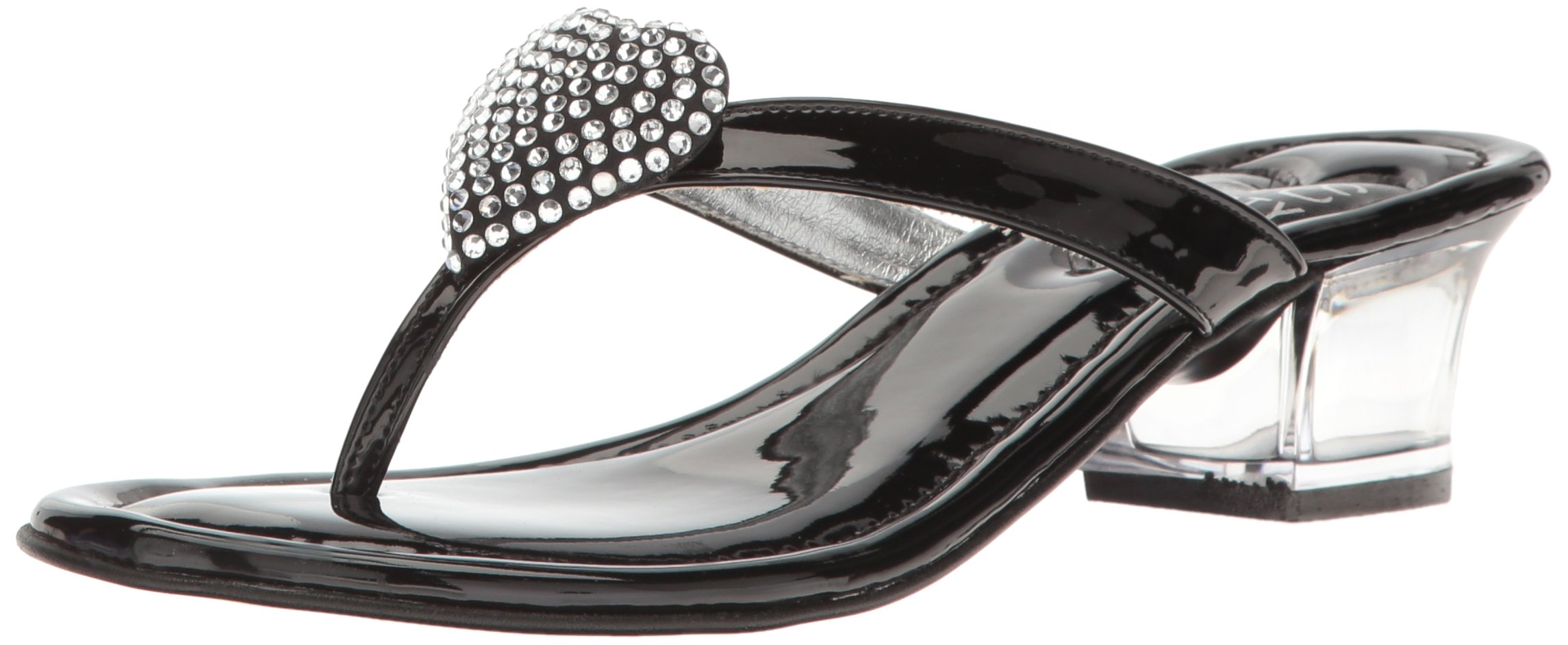 Love & Liberty Women's Love-LL Dress Sandal, Black, 6 M US
