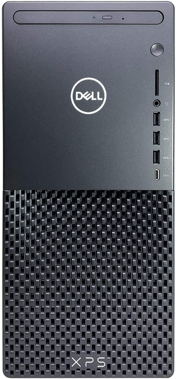 Dell_XPS 8940 Tower Desktop Computer - 10th Gen Intel Core i7-10700 8-Core up to 4.80 GHz CPU, 64GB DDR4 RAM, 1TB Solid State Drive, GeForce GTX 1650 Graphics, DVD Burner, Windows 10 Pro, Black