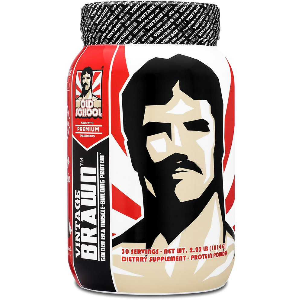 VINTAGE BRAWN - Muscle-Building Protein Powder - The First Triple Isolate of Premium Egg, Milk, and Beef Protein - Rich Chocolate Flavor with Zero Sugars and No Artificials - 30 Servings