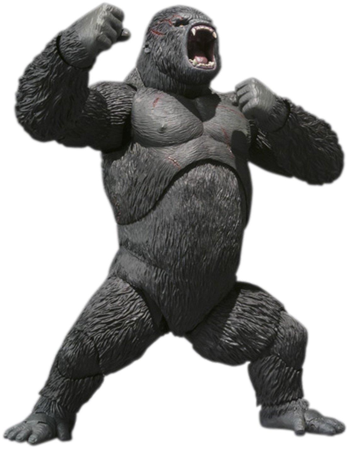 """Bandai Tamashii Nations Kong The 8th Wonder of The World """"King Kong 2005"""" S.H. MonsterArts Action Figure"""