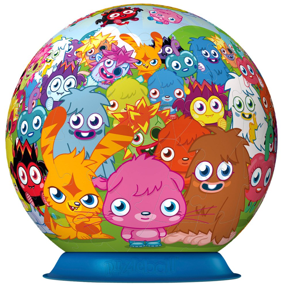 Ravensburger Moshi Monsters 3D Puzzle (72 Pieces) 12144 Fictional & Fantasy Characters