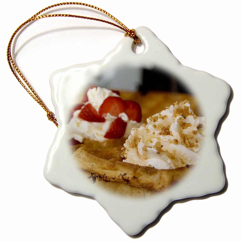 Amazon.com: 3dRose Danita Delimont - Cuisines - Belgium, Brugge, Belgium waffles, cuisines-EU04 CMI0152 - Cindy Miller Hopkins - 3 inch Snowflake Porcelain ...