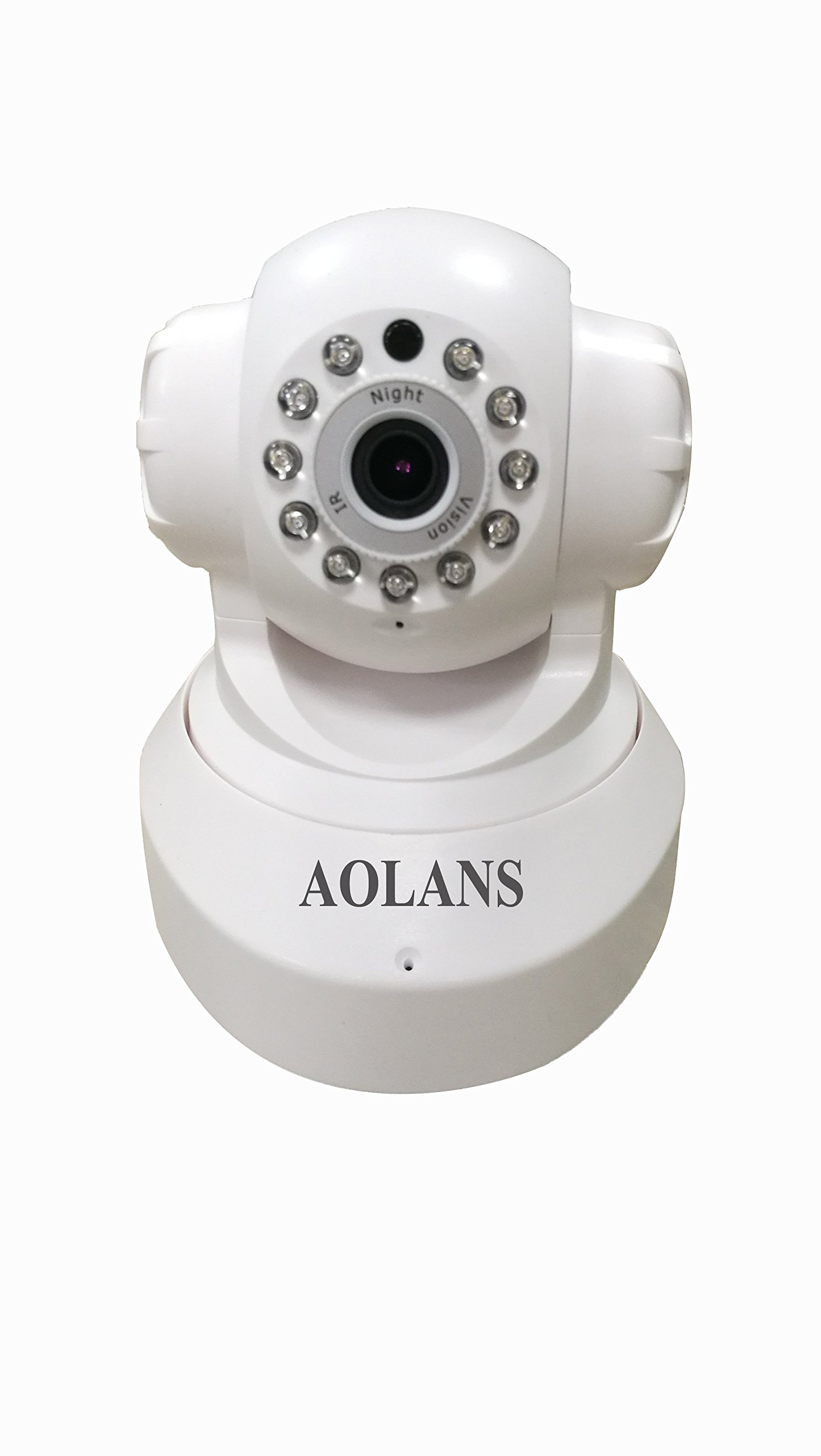 AOLANS 720P Ip camera, Wifi security home monitoring Night Vision,Two Way Audio For iPhone/Android Phone (AOLANS)64G