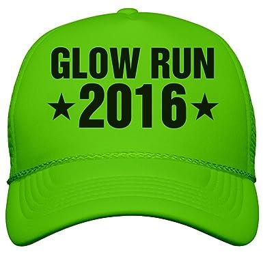 a284c9d57 Amazon.com: Customized Girl Glow Run Race 2016 Neon Hat: Neon ...