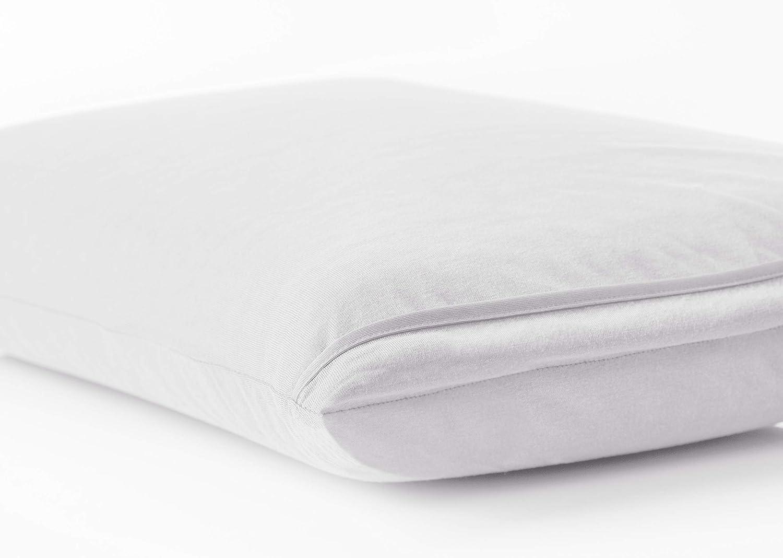 BSensible Tencel Funda de almohada protectora impermeable y transpirable Blanco 105 x 40: Amazon.es: Hogar