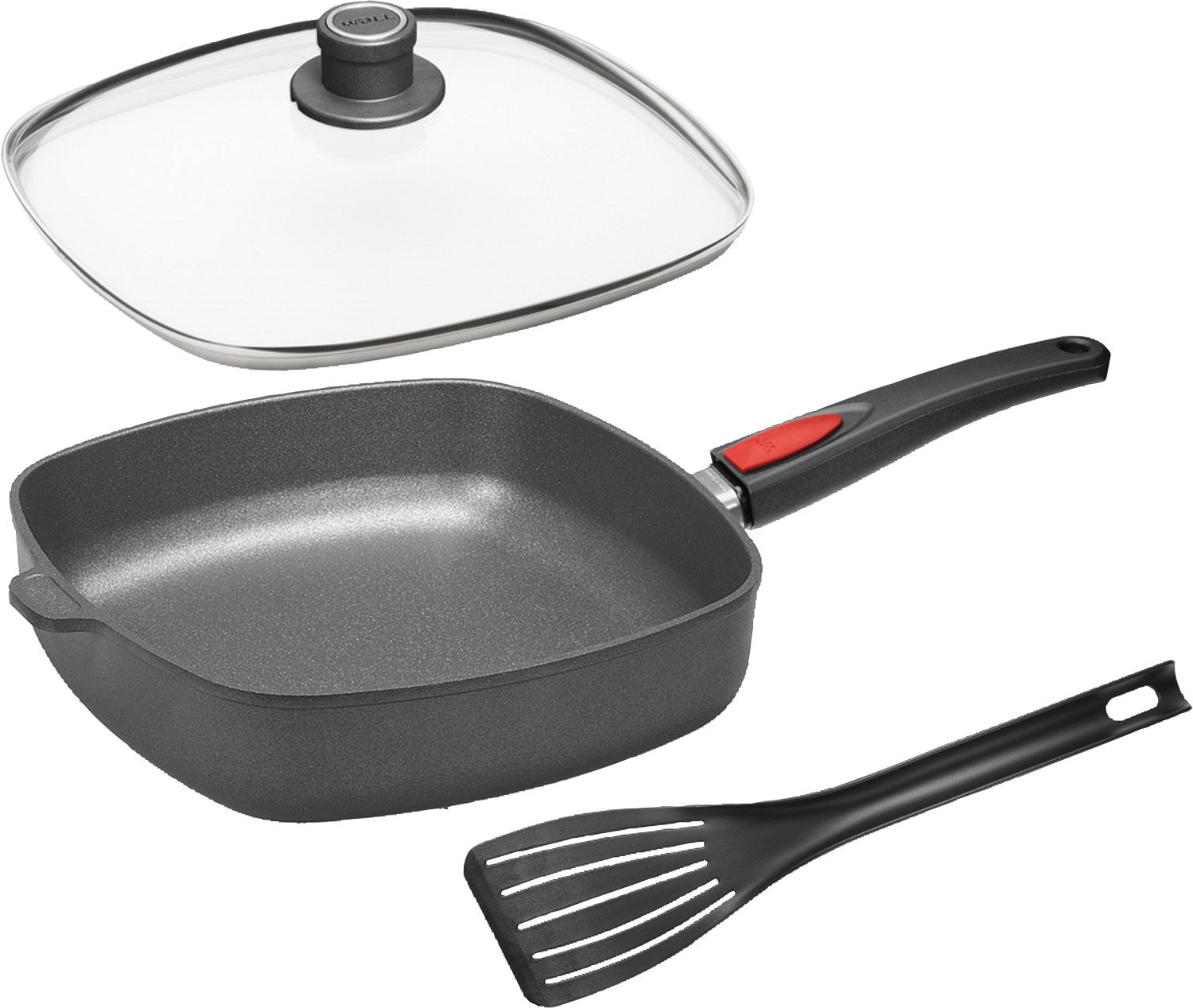 Woll frying pan set 3 parts size 26 x 26 cm