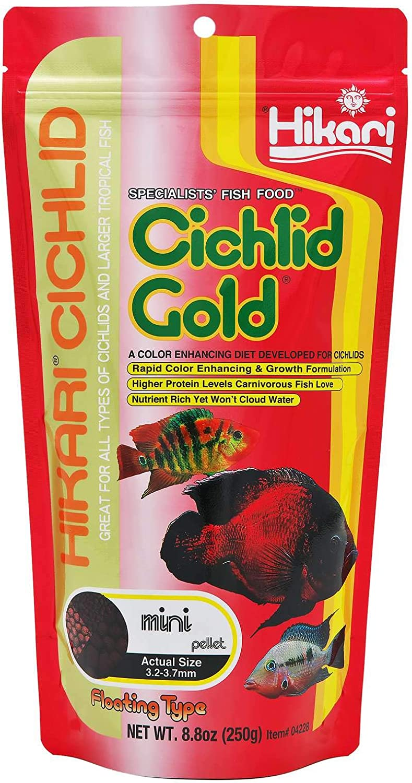 Cichlid Gold Fish Food Large Pellet Floating Type 8.8 oz (250g)