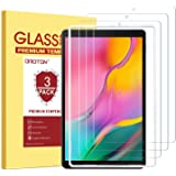 OMOTON [3 Pack] Screen Protector for Samsung Galaxy Tab A 10.1 2019 Release SM-T510, Tempered-Glass/Scratch-Resistant/Bubble