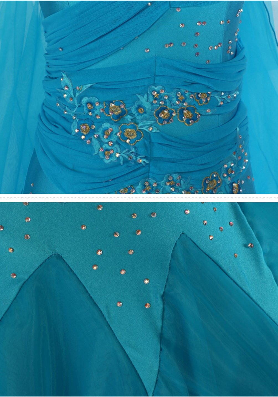 Ballroom Ballroom Ballroom Tanzkleid Für Frauen Wettbewerb Performance Kleidung Walzer Tango Tanz-Outfit Kurze Ärmel Trikot Passen zu Modernes Kostüm Zubehör B07F6FMB75 Bekleidung Rich-pünktliche Lieferung c37c87