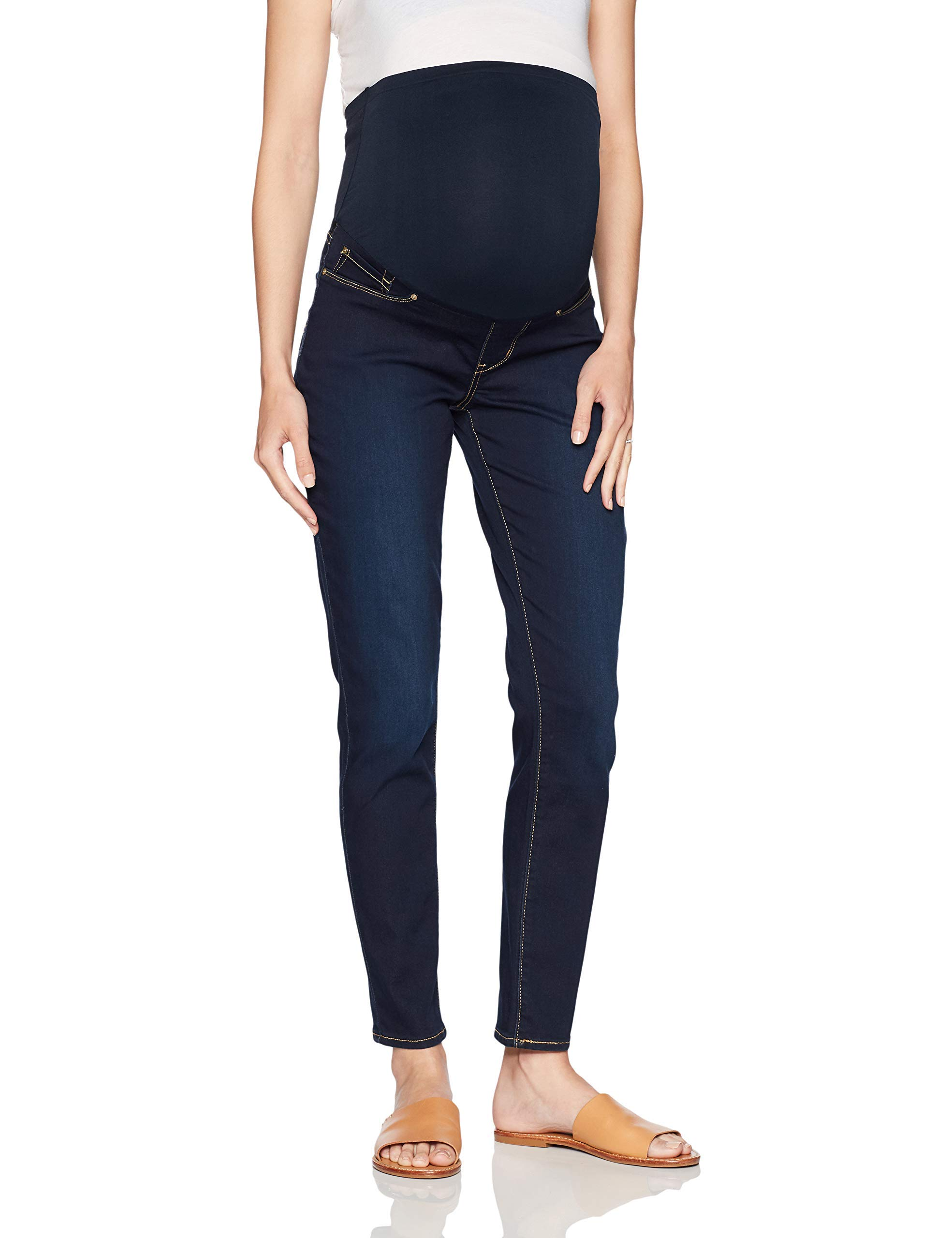 Signature by Levi Strauss & Co. Gold Label Women's Maternity Skinny Jeans, Flip Sig Large