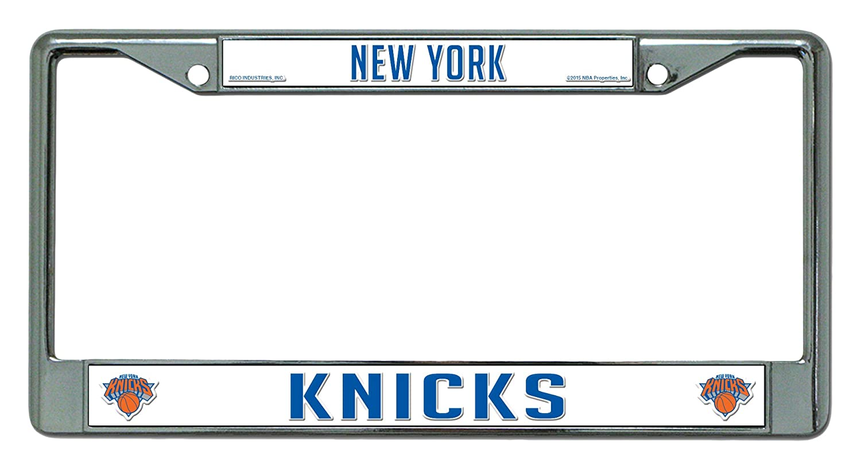 NBA New York Knicks Chrome Plate Frame