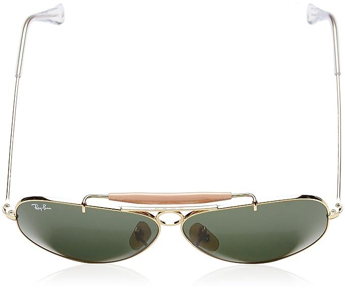 fa0de4478e7e3 Amazon.com  Ray-Ban Men s Shooter Aviator Sunglasses