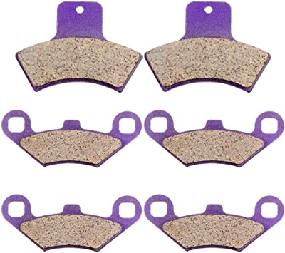 ECCPP Front Brake Pads FA159 For Polaris Sportsman 500 4x4 HO 1998-2002 1 Pair