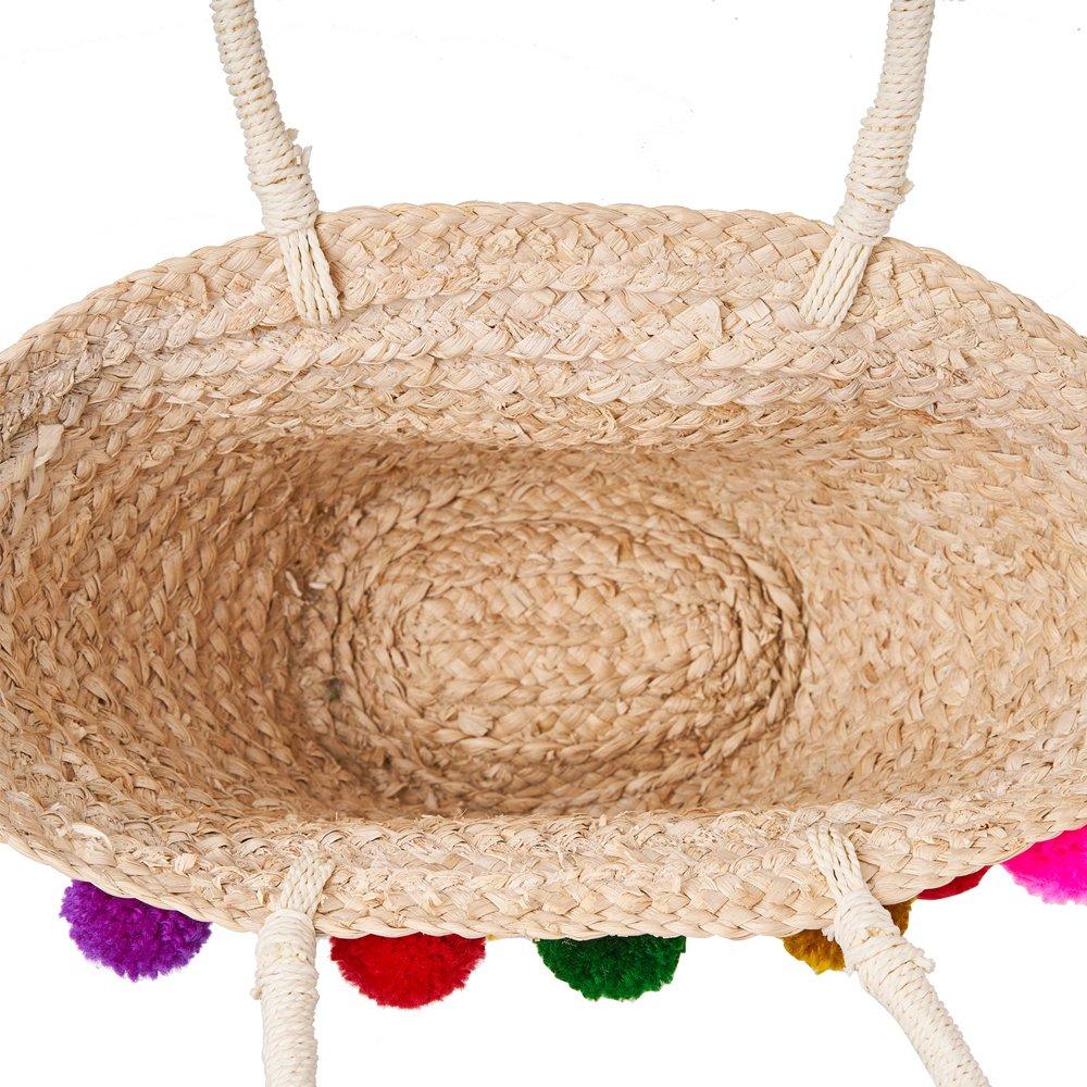 Amazon.com: Bolso de playa para mujer y niña, hecho a mano ...