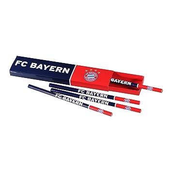 Bleistiftbox FC Bayern M/ünchen Stifte Pen Stift Bleistift