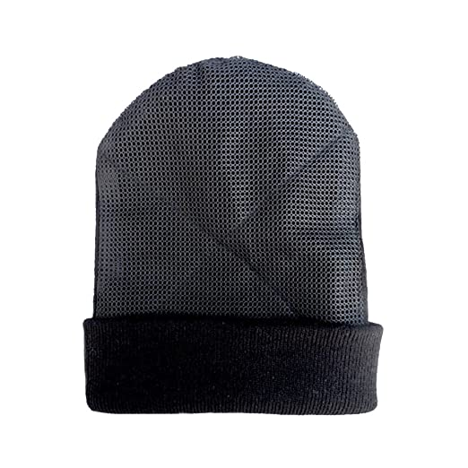 b31914c35cc YOUDE Mens Head Spin Beanies Bboy Hip-Hop Turn Head Dance Beanie Hat  Knitted Cap (Black) at Amazon Men s Clothing store
