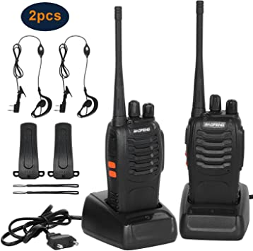 Walkie Talkie Recargables 1500mAh,Walkies Talkies Profesionales 16 ...