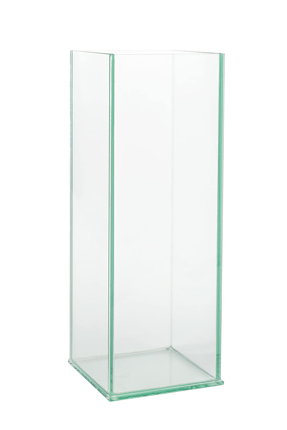 Royal imports quot rectangular clear glass vase x