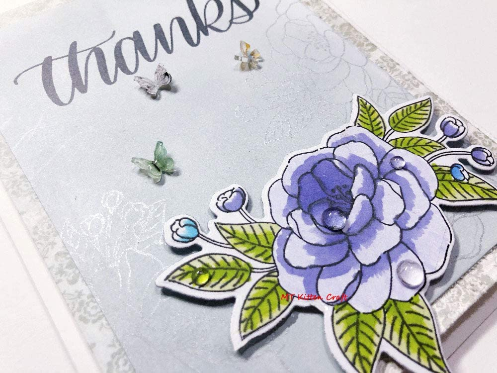 200Pcs Simulation Dewdrop Waterdrop Card Making Decor Accessories Metal Cutting Dies and Stamps Scrapbooking Embossing Decor