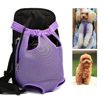 JLCYYSS Mochila para Transportistas De Mascotas, Mochila Ajustable para Perros para Mascotas, para Pequeñas