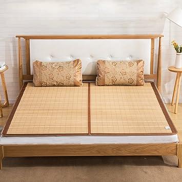 WENZHE Bambus Matratzen Sommer-Schlafmatten Strohmatte Teppiche ...