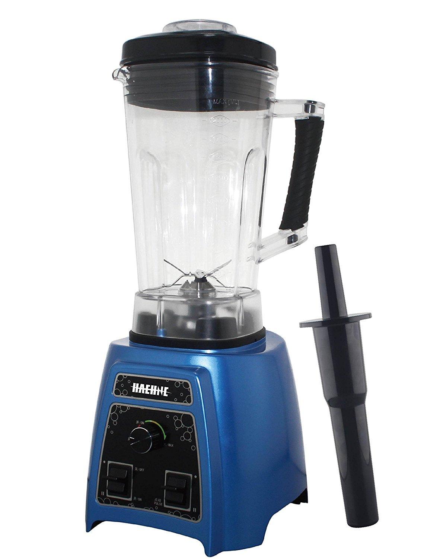 Professional Kitchen Commercial Grade 2 Litre Smoothie Maker Food Soup Blender Machine 1500W Blue HAEHNE HN3388 Nutrition Fruit Blender