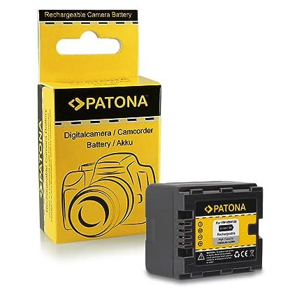 caricabatteria casa//auto per Panasonic VW-VBN260 2x Batteria Patona