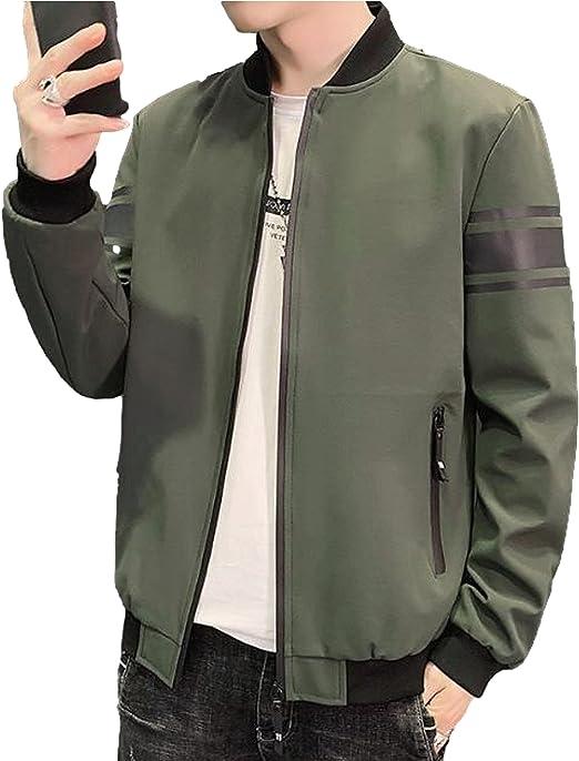 [ベンケ] MA-1 ブルゾンジャケット メンズ カジュアル トップス フライトジャケット 羽織り 春 夏 5色展開 M~XL