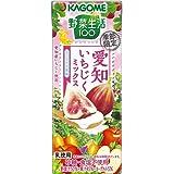 カゴメ 野菜生活100 愛知いちじくミックスヨーグルト風味 195ml×24本