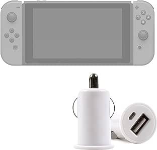 DURAGADGET Cargador Mechero del Coche con Puerto USB para Videoconsola Nintendo Switch: Amazon.es: Electrónica