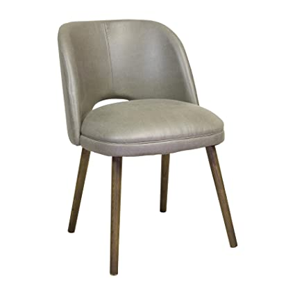Design Tree Home Mid Century Modern Barrel Backed Dining Chair